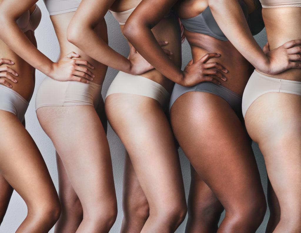 Vrouwelijke vormen door oestrogeen