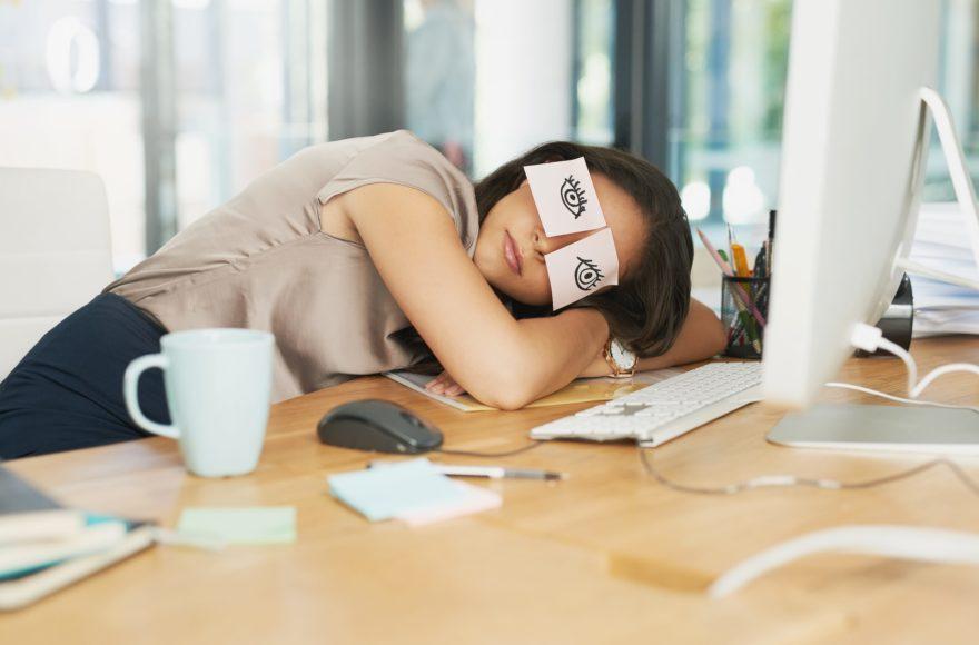 Uitputting door te laag cortisol